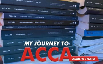 My Journey with ACCA - Experience by Asmita Thapa