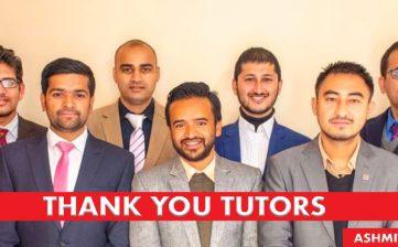 Thank You Tutors