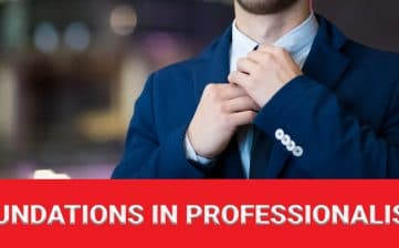 Foundations in Professionalism