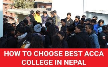 How to choose the best ACCA college in Nepal?
